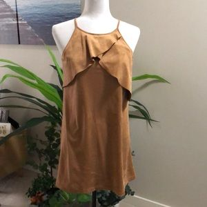 NWT: Black Swan faux suede dress size small